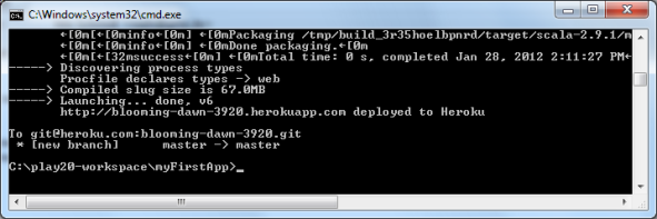 Successful Heroku Deployment